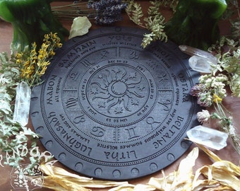 Wheel of the Year, Sun and Moon, Black
