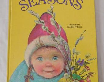 1966 Big Golden Book Seasons illustrated by Eloise Wilkin