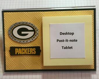 Green Bay desktop notepad