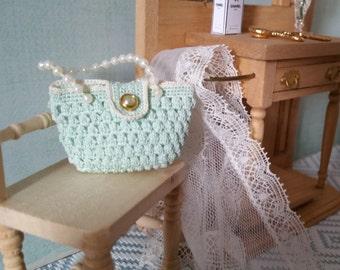 Miniature purse crochet