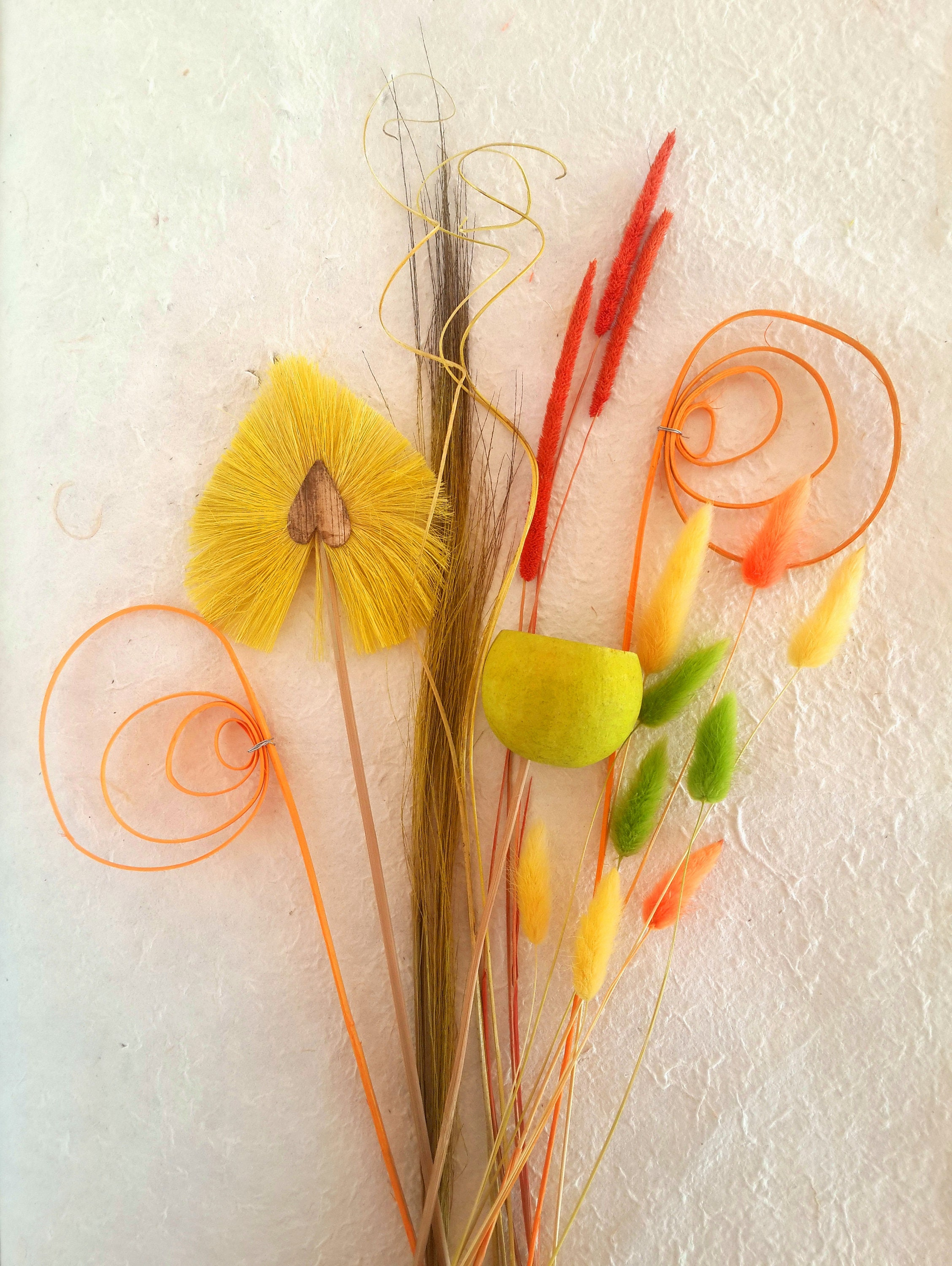 Spring dried flower bouquet spring dry flowers yellow flower sold by koroniartstudio izmirmasajfo