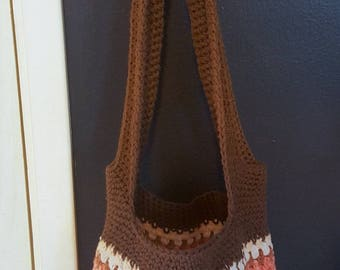 Cotton Tote -- Market Tote -- Large