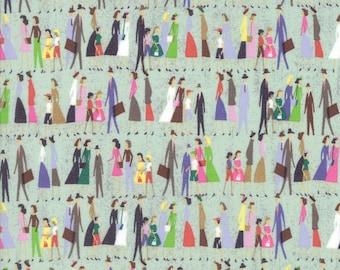 Novelty People Fabric - Saturday Morning by Basicgrey from Moda - 1 Yard