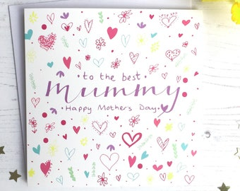 Mother's Day Mummy doodles