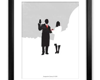 44. Commemorative Obama Poster