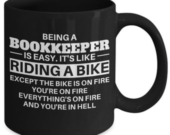 Bookkeeper, Bookkeeper mug, bookkeeper gift, bookkeeper coffee mug, mug for bookkeeper, gift for bookkeeper