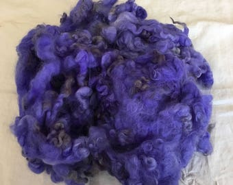 Dyed Leicester Longwool locks