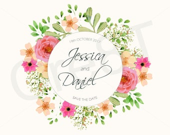 Weddings - Save the Date Template - Digital