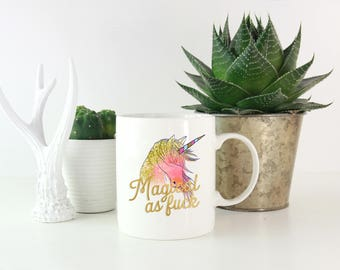 Unicorn Mug, Funny Coffee Mug, Coffee Cup, Best Friend Mug, Gift for friend, Unicorn Lover, Unicorn Gifts, Unicorn Coffee Mug, BFF Mug