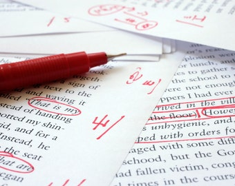 Editing/Proofreading - BY HOUR Copy editing, line editing, book editing