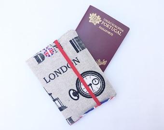 Londres Portefeuilles Passeport (London Passport Holder) ruErsyeV