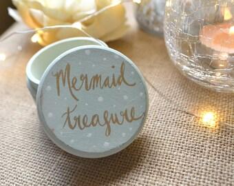 Trinket Box, Mermaid Box , Ring Holder, Ring Bearer Box , Treasure,  Wedding Ring Boxes, Calligraphy Box, Mermaid