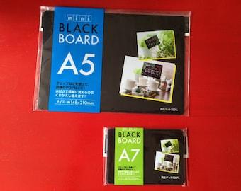 Mini Black Board A5 A6 A7 with Liquid Chalk Marker