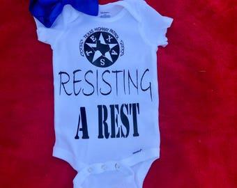 RESISTING A REST ONESIE