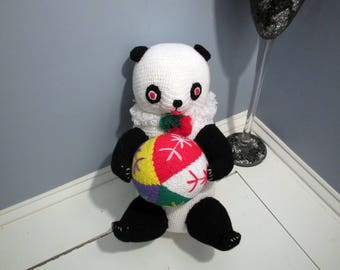 Panda Bear Vintage From China Late 70s or Early 80s