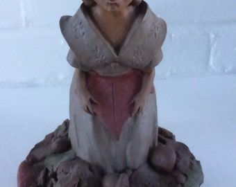 Vintage Cairn Studio Kindred Spirits  Tom Clark Gnome Priscilla Re-signed and Retired