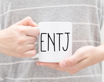 ENTJ Personality Coffee Mug | Personalize with a name Optional | All personality types available