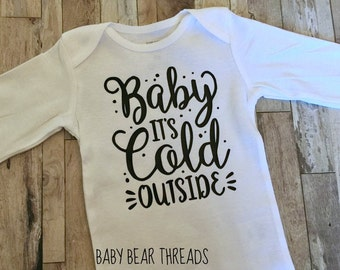 Baby Its Cold Outside - Adult Sweatshirt - Christmas Shirt - Holidays gmpEuM1Mf