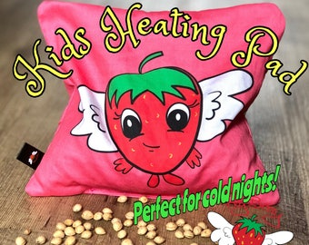 Kids Gift Idea, Easter Basket Stuffer, Kids Cherry Pit Pillow, Microwaveable Heat Pack, Reusable Ice Pack, Hot Cold Pack, Kids Gift Idea