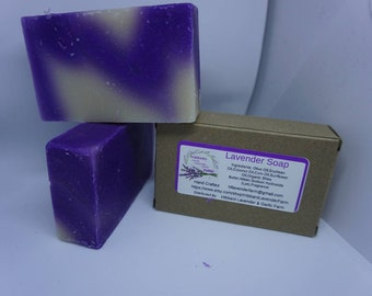 Lavender soap cold processed hand made-natural ingredients-fragrance-Lavender essential oil-bath soap