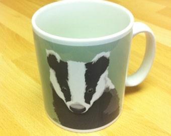Mr. Badger Ceramic Mug