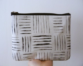 Hand painted large pouch