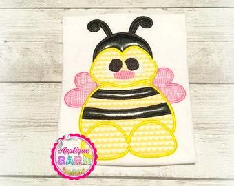 Bumble Bee applique, Bee applique