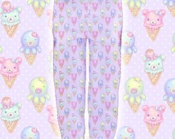"Pink ""IceCreamy Bearcones"" Joggers Sweatpants"