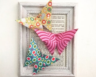Picture of origami butterflies