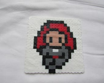 Black Widow BeadHeroes Coaster