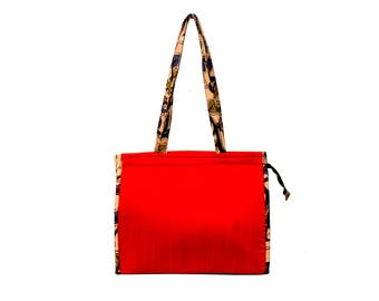 Handcrafted Silk Cotton Bag