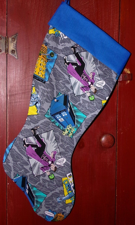 Dr. Who Christmas Stocking