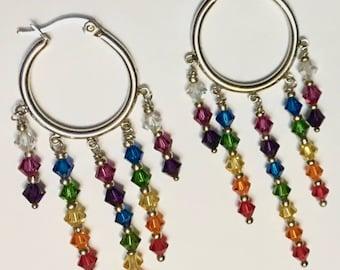 Dreamcatcher Chakra Earrings
