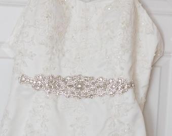 rhinestone bridal sash, rhinestone bridal belt, rhinestone applique, wedding sash belt, wedding sash rhinestone, wedding sash, bridal belt