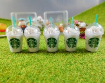 Starbucks Coffee Dollhouse Miniatures Food, Deco, Cute