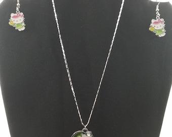 Hello Kitty Necklace set