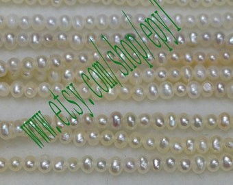 top quality 10pcs full strand,3-3.5mm, tiny small natural white freshwater pearl Strand,loose pearl,freshwater pearl Beads String,eTfss20