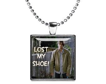 I lost my shoe Necklace Sam Winchester Supernatural Pendant Fandom Jewelry Jared Padalecki Cosplay Fangirl Fanboy