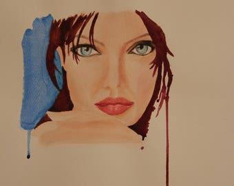 Original Watercolor painting, watercolour