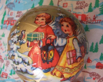 lovely round paper ornament