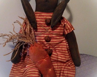 Primitive Bunny Easter Rabbit made to order