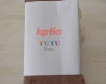 New wool KATIA TUTU Basic 401 cowl taupe