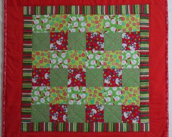 SALE - Winter Holidays Quilt 2