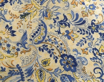 Hoffman Fabrics Treasures of Provence Style in Blue (D602)