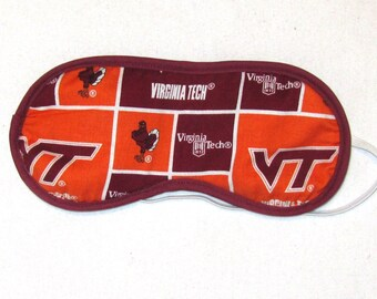 Sleep Mask Virginia Tech Sports College