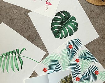 Decorative Fabric Series04 - Tropical Plants