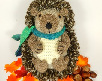 Hedley the Hedgehog - Amigurumi Crochet Pattern