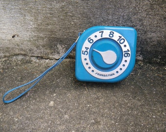 Soundsign transistor radio - blue - 1980s