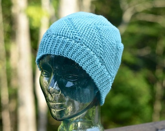 Crochet Pattern: Right This Way! Reversible Beanie (sport)