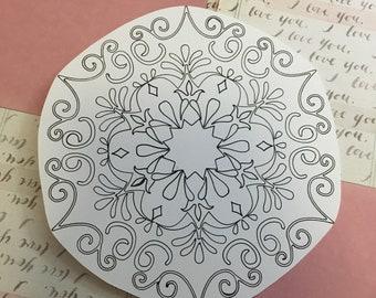 Elegant Mandala Sticker